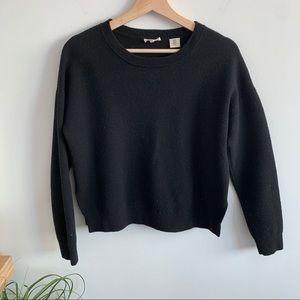 Levi's - Black Soft Knit Sweater - Slight High-Low